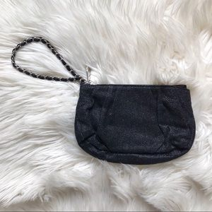 Express | Black Sparkle Clutch